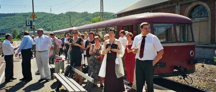 Brautzug statt -wagen