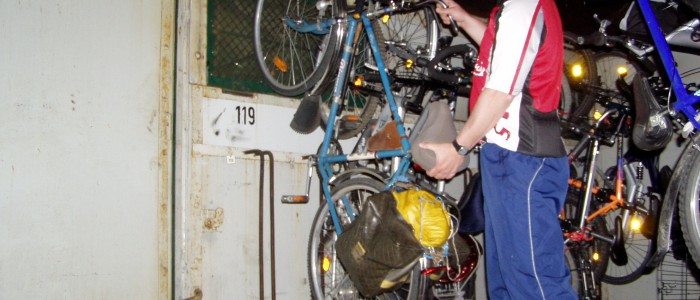 Fahrradmitnahme - kein Problem!